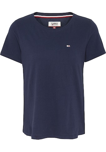 TOMMY JEANS T - Shirt »TJW SOFT JERSEY TEE« kaufen