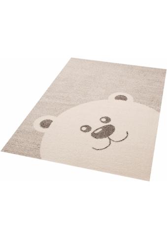 Kinderteppich, »Teddy Bear Toby«, Zala Living, rechteckig, Höhe 17 mm, maschinell gewebt kaufen