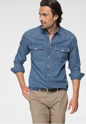 TOM TAILOR Jeanshemd, mit Brusttaschen kaufen