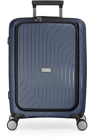 "Hauptstadtkoffer Hartschalen - Trolley ""TXL, dunkelblau, 55 cm"", 4 Rollen kaufen"