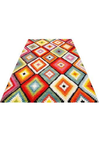 Teppich, »Kelim Remix«, Wecon home, rechteckig, Höhe 13 mm, maschinell gewebt kaufen
