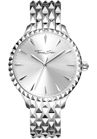 THOMAS SABO Quarzuhr »Damenuhr Rebel at heart, WA0318 - 201 - 201 - 38 mm« kaufen