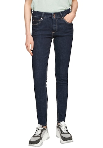 Q/S designed by Skinny-fit-Jeans »Sadie«, in cleaner Waschung kaufen