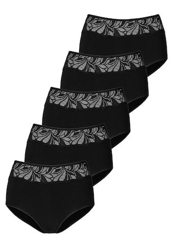 Vivance Taillenslip, (5 St.), mit floraler Spitze vorn kaufen