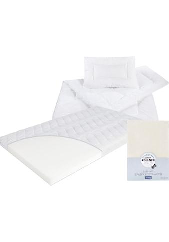 Matratze, Decken, Spannbetttuch, »Kombi Jan«, Zöllner kaufen