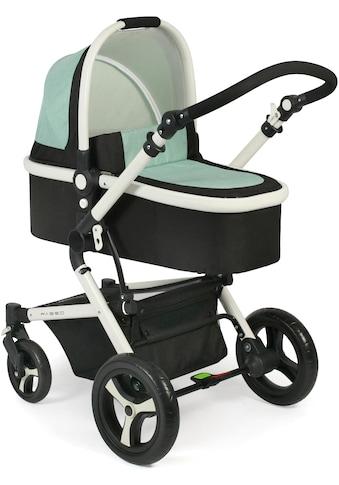 CHIC4BABY Kombi-Kinderwagen »Passo, mint«, 15 kg, ; Kinderwagen kaufen