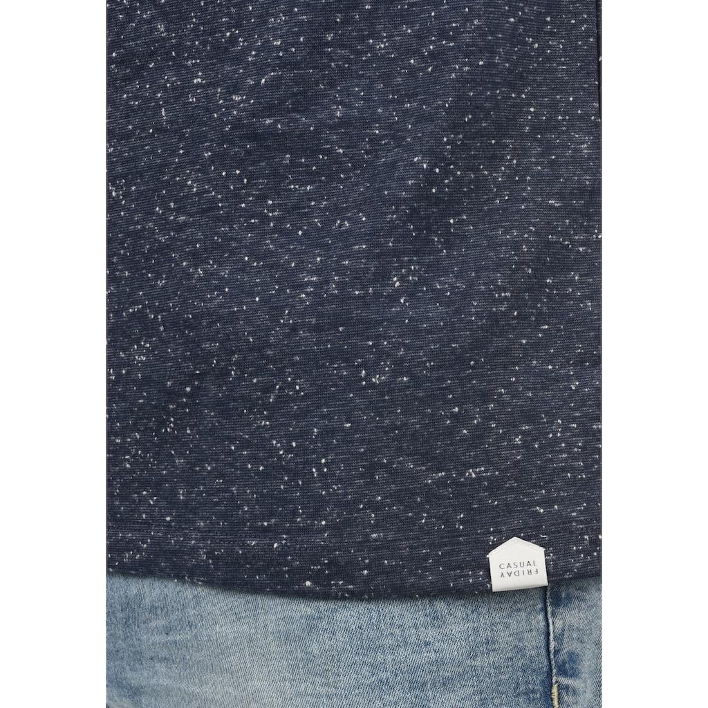 Casual Friday Rundhalsshirt »20503428«, T-Shirt mit Rundhalsauschnitt