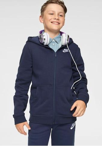 Nike Sportswear Kapuzensweatshirt »BOYS NIKE SPORTSWEAR HOODIE FULLZIP CLUB« kaufen