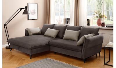 Home affaire Ecksofa »Tirano«, wahlweise mit Bettfunktion und Bettkasten kaufen