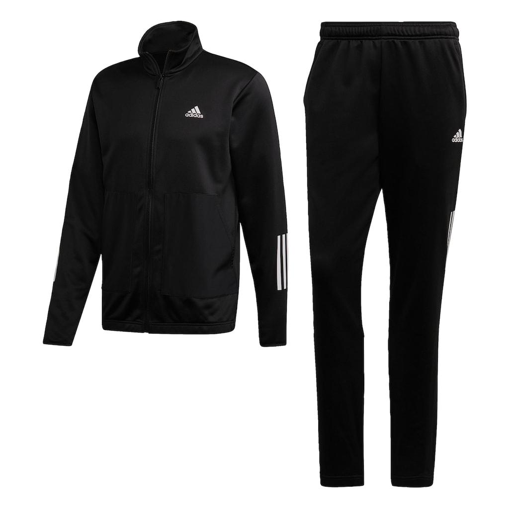 adidas Performance Trainingsanzug »FABRIC MIX«, (Set, 2 tlg.)