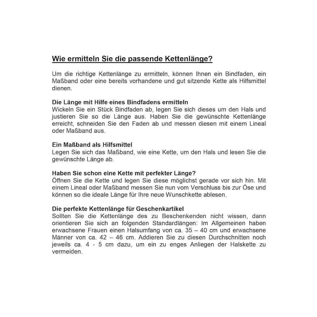 Firetti Kette mit Anhänger »Herz, geflochtenes Lederband«, mit Zirkonia