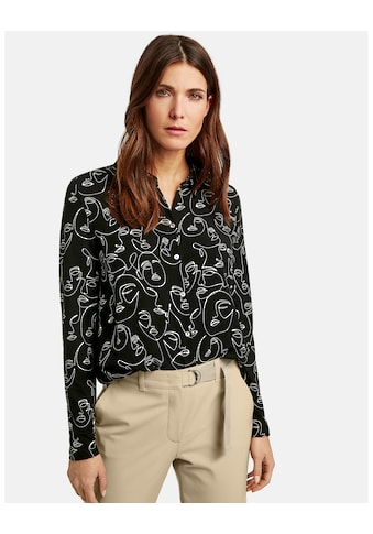 GERRY WEBER T - Shirt 1/1 Arm »Langarmshirt mit Hemdkragen« kaufen