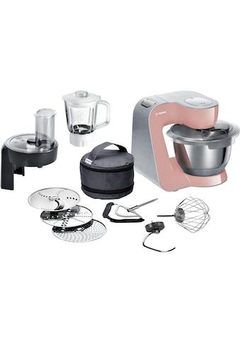 BOSCH Küchenmaschine »MUM5, 1000W, Edelstahl gebürstet« kaufen