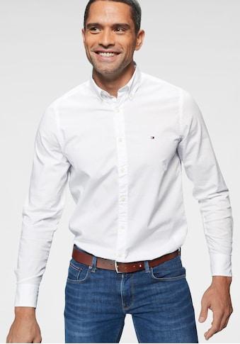 TOMMY HILFIGER Langarmhemd »CORE STRETCH SLIM FIT POPLIN SHIRT« kaufen