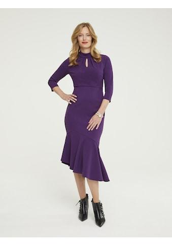 Kleid mit asymmetrischem Saum kaufen