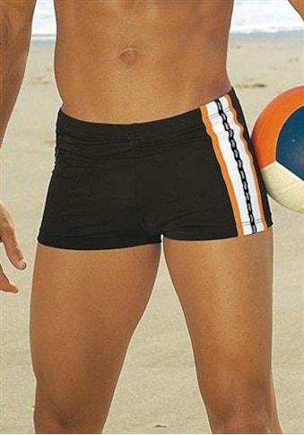s.Oliver Beachwear Boxer-Badehose, mit Reissverschlusstasche kaufen