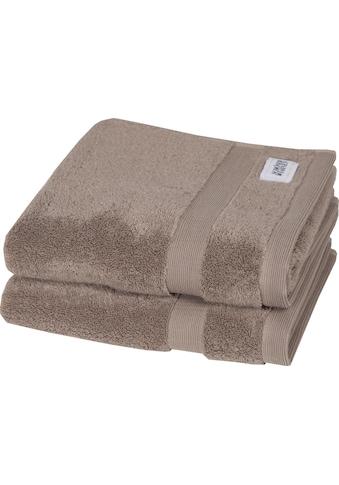 SCHÖNER WOHNEN-Kollektion Handtücher »Cuddly«, (2 St.), in unterschiedlichen Farben kaufen