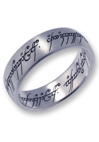 Der Herr der Ringe Fingerring »Der Eine Ring - Titan, 10004042«, Made in Germany kaufen