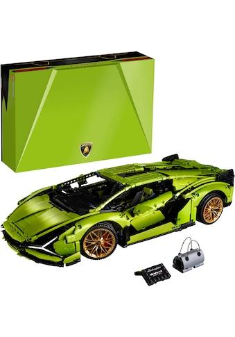 LEGO® Konstruktionsspielsteine »Lamborghini Sián FKP 37 (42115), LEGO® Technic«, (3696... kaufen