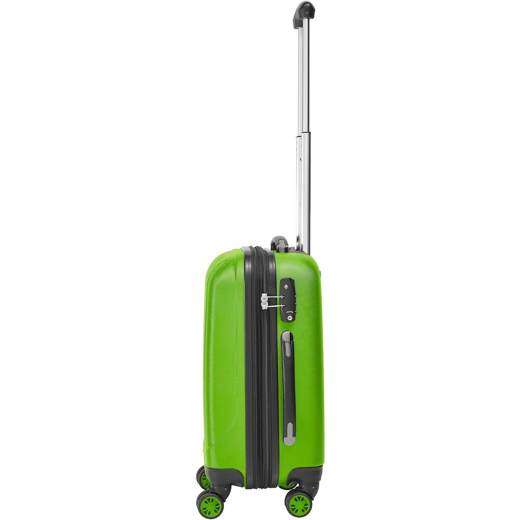 Packenger Hartschalen-Trolley »Velvet«, 4 Rollen