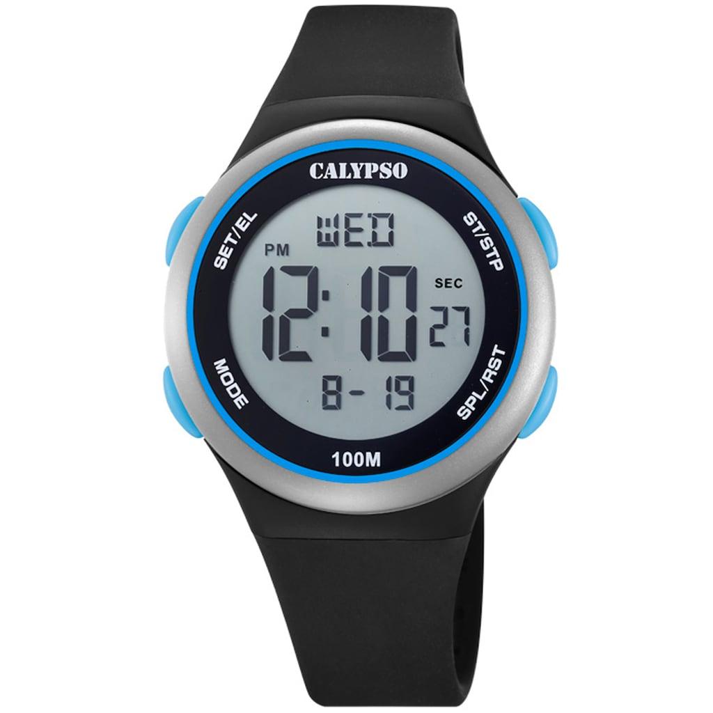 CALYPSO WATCHES Digitaluhr »Color Splash, K5804/4«