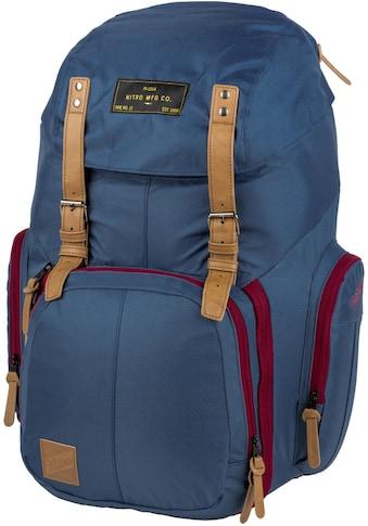 NITRO Laptoprucksack »Weekender, Blue Steel« kaufen