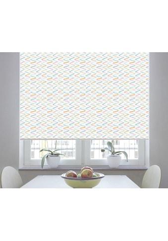 sunlines Seitenzugrollo nach Mass »Sonata Print«, verdunkelnd, freihängend kaufen