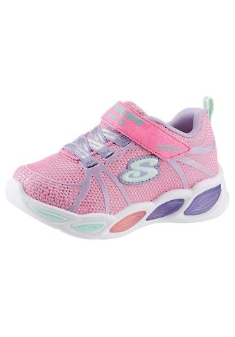 Skechers Kids Sneaker »Blinkschuh Shimmer Beams«, mit cooler Blinkfunktion kaufen