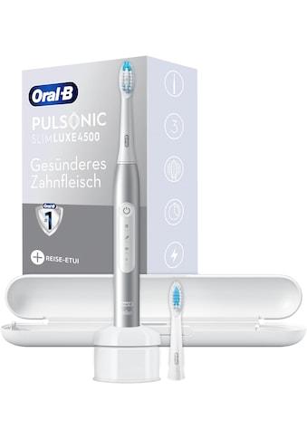 Oral B Schallzahnbürste »Pulsonic Slim Luxe 4500«, 2 St. Aufsteckbürsten kaufen