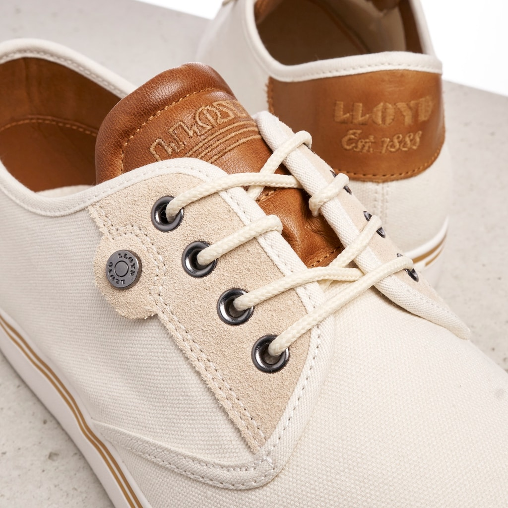 Lloyd Sneaker »Eldon«, mit modischem Ferseneinsatz
