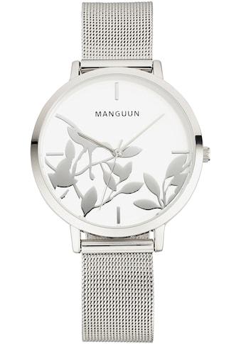 MANGUUN Quarzuhr »MULA-91316-20M« kaufen