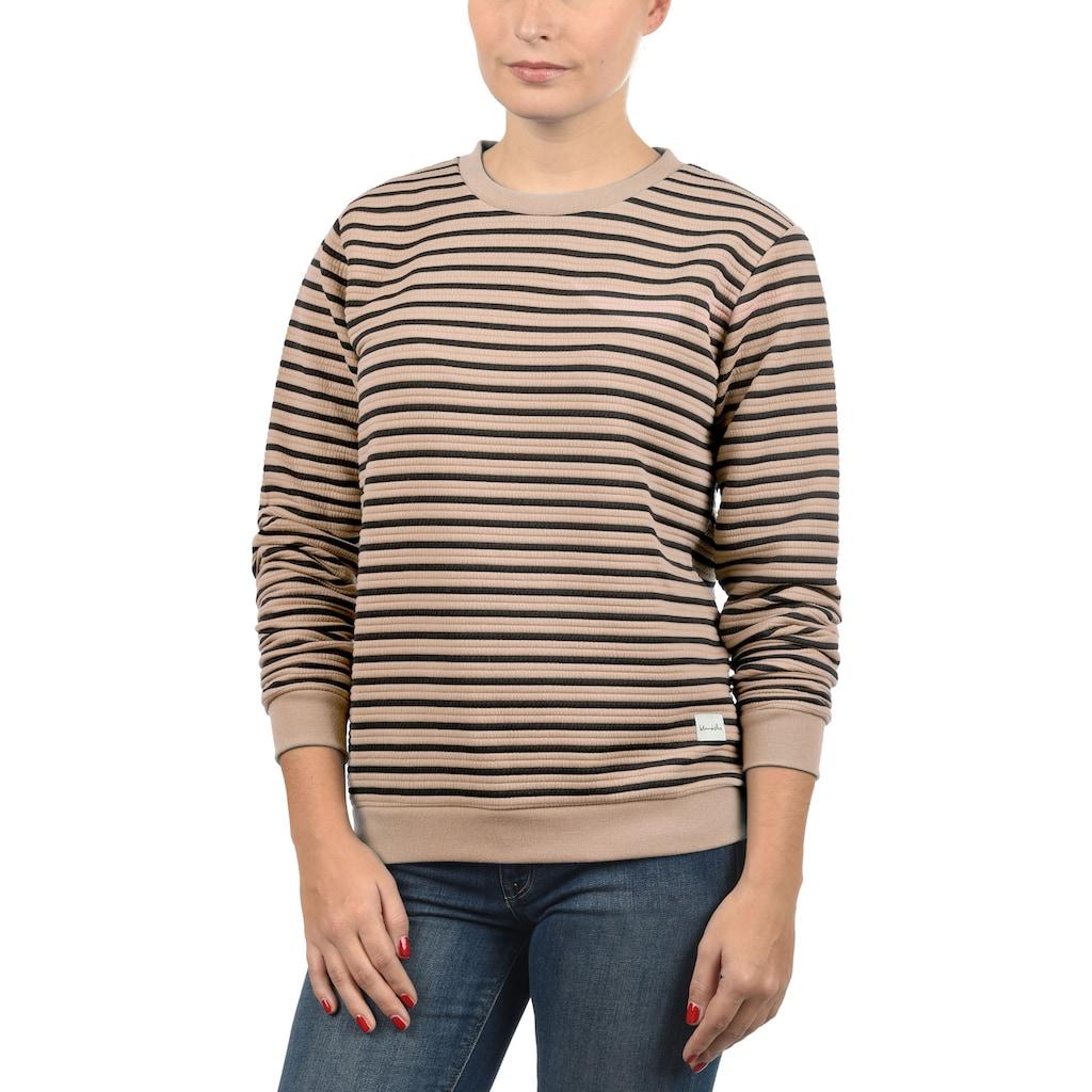 Blendshe Sweatshirt »Dana«, mit Rundhalsausschnitt