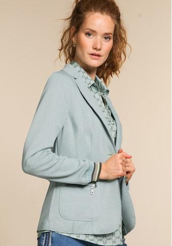 bianca Jerseyblazer »SUNNY«, in der coolen Trendfarbe mit angesagten Strickbund kaufen