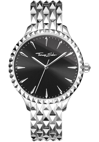 THOMAS SABO Quarzuhr »Damenuhr Rebel at heart, WA0319 - 201 - 203 - 38 mm« kaufen