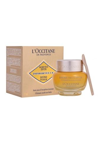 L'OCCITANE Anti-Aging-Augencreme »Imortelle Divine Balsam 15 ml«, Premium Kosmetik kaufen