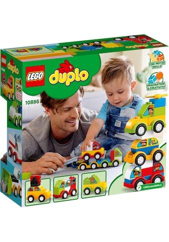 LEGO® Konstruktionsspielsteine »Meine ersten Fahrzeuge (10886), LEGO® DUPLO™«, (34... kaufen