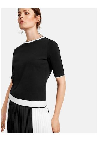 Taifun Strick, Shirt, Top, Body »Kurzarm - Pullover« kaufen