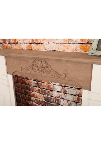 my Flair Kaminumbauschrank »Rocco«, Handgefertigte Umrandung aus Holz mit stabilem Stand kaufen