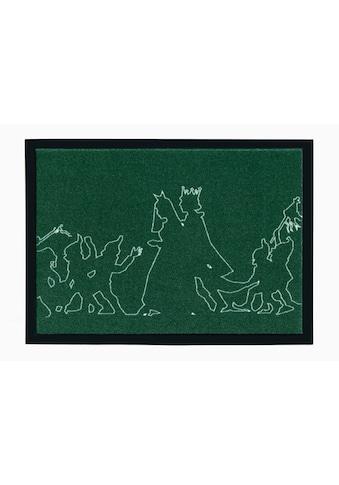 grimmliis Fussmatte »Märchen 3«, rechteckig, 2 mm Höhe, Schmutzfangmatte, Motiv... kaufen