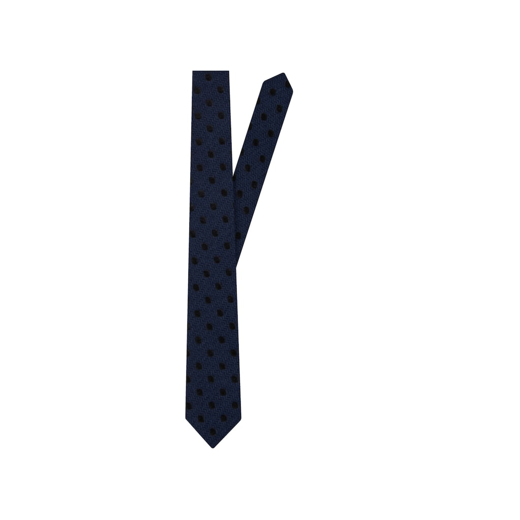 seidensticker Krawatte »Slim«, Schmal (5cm) Kleinmuster