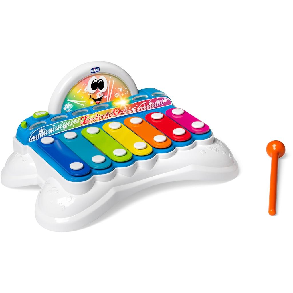 Chicco Spielzeug-Musikinstrument »Flashy das Xylophon«, mit Licht und Sound