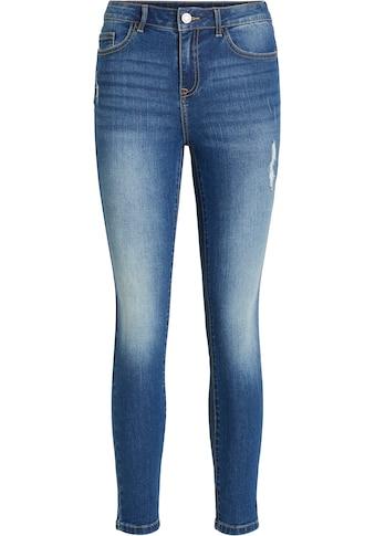 Vila 7/8-Jeans »VIEKKO«, mit leichten used Effekten kaufen
