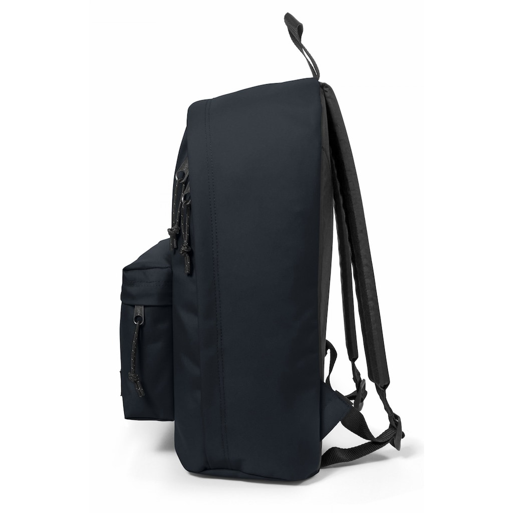 Eastpak Laptoprucksack »OUT OF OFFICE, Cloud Navy«, enthält recyceltes Material (Global Recycled Standard)