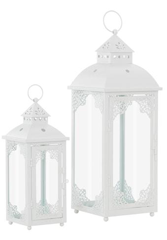 Home affaire Laterne, mit filigranen Ornamenten kaufen