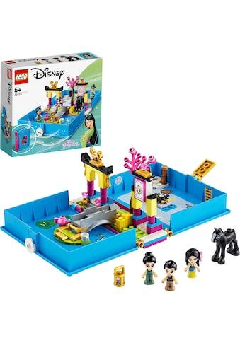 """LEGO® Konstruktionsspielsteine """"Mulans Märchenbuch (43174), LEGO® Disney Princess™"""", Kunststoff, (124 - tlg.) kaufen"""
