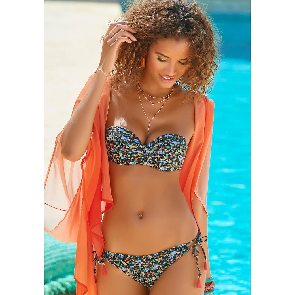 Buffalo Bügel-Bandeau-Bikini, mit Zierquasten
