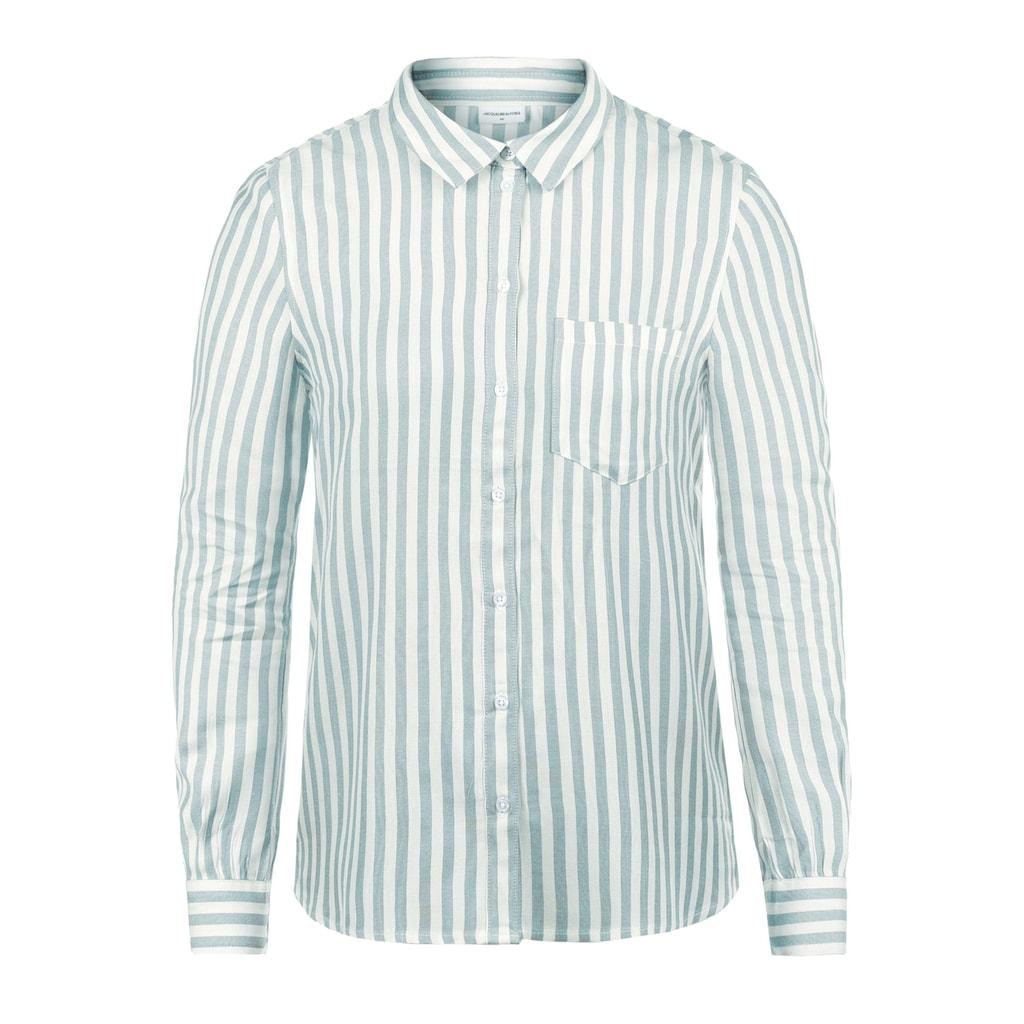 JACQUELINE de YONG Hemdbluse »Mia«, Hemd mit Streifen