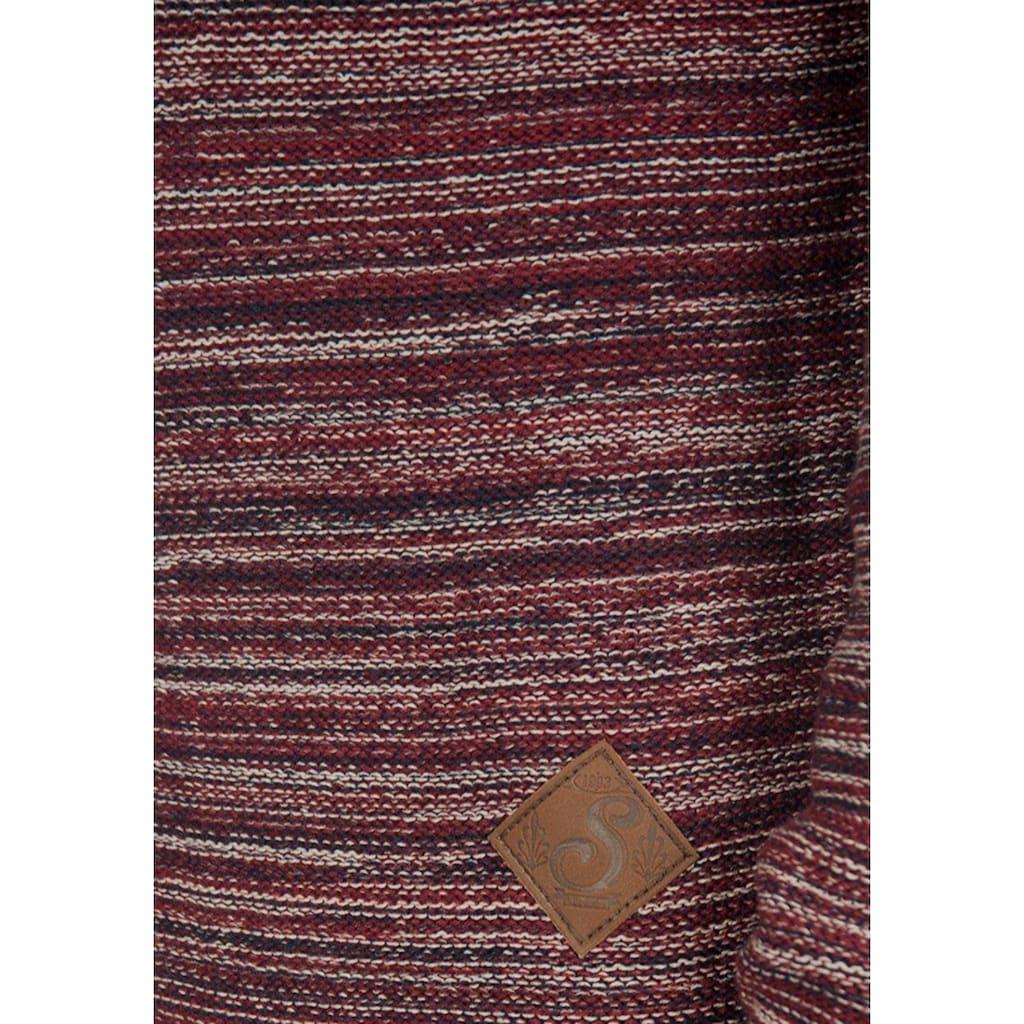 Solid Cardigan »Mervin«, Strickjacke mit Schalkragen