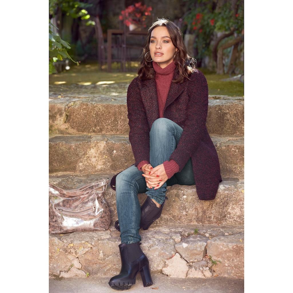 JACQUELINE de YONG Kurzmantel »DEMEA«, mit Reverskragen