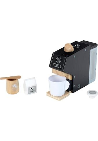 Klein Kinder-Kaffeemaschine »Electrolux, Holz«, mit Kaffeekapseln und Zubehör aus... kaufen